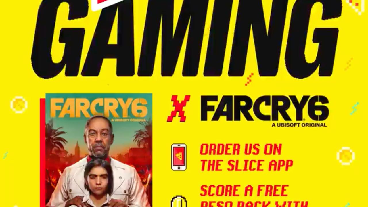 Ordene pizza en Slice y obtenga la moneda Far Cry 6 gratis y la oportunidad de ganar una PS5