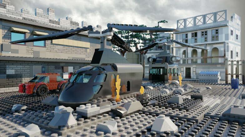 Los mapas más icónicos de Call Of Duty han sido recreados en Lego