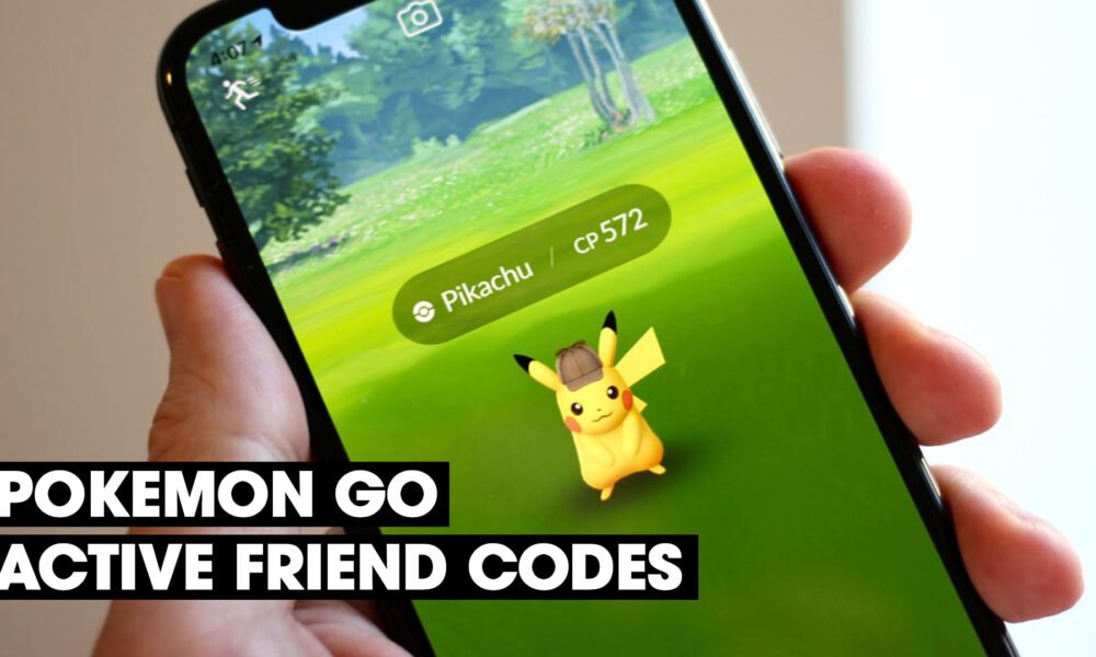 Pokemon go active friend codes